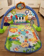 Mattel Fisher Price Decke Rainforest Piano Gym Baby Spielbogen Motorik Spielzeug