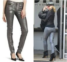 8eb11b41 Vivienne Westwood Anglomania For Lee Skinny Jeans With Silver Coating Sz 27