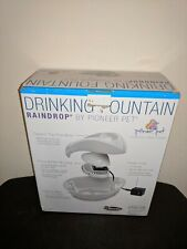 Pioneer Pet Raindrop Durable Ceramic Dog & Cat Fountain SmartCat OPEN BOX