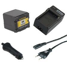 Batteria Patona + caricabatteria casa/auto per Panasonic HDC-TM700,HDC-TM700K