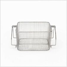 Crest Mesh Basket Stainless Steel w/ Handle for 1100 Series Ultrasonic Cleaner