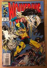Wolverine Comic Book #73 Larry Hama Story Sentinels Jubilee (1993) High Grade!