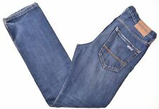 ABERCROMBIE KIDS Boys Distressed Jeans 13-14 Years W28 L29 Blue Straight  HT12