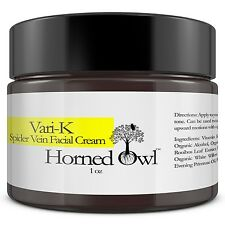 Spider Vein Face Cream Helps clear bruises, redness, rosacea  3% Vitamin K