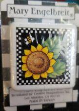 Mary Engelbreit Drawer Pull Dresser Cabinet Knob Sunflower Square