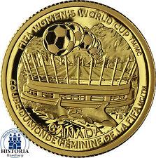 Kanada 75 Dollar Gold 2015 Goldmünze FIFA Frauenfußball-WM - Die Meisterschaft
