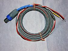 Audioquest & Neutrik 3 Wire Subwoofer Cable for REL With Speakon Connector Sub