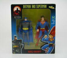 2001 The New Batman Adventures Hasbro Batman and Superman Walmart Exclusive set