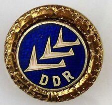 DDR GST Abzeichen Flugmodellsport Leistungsabzeichen Gold C 1965-75 (GST0437b-2)
