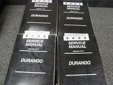 2005 Dodge Durango SUV Shop Service Repair Manual Set ST SXT SLT Limited 4WD