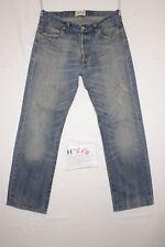 Levi's 501(Cod. H716) Tg48 W34 L36 orlo rifatto  jeans usato limited edition