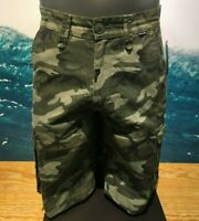"""Hurley Renegade Cargo Relaxed Fit 23"""" Shorts  Camo Men's  Relaxed Fit - $55"""