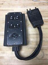 Daniel Woodhead 100 Amp Portable Gangbox