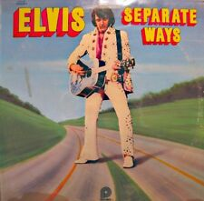 ELVIS PRESLEY separate ways LP 1972 CAMDEN USA sentimental me/old shep VG++