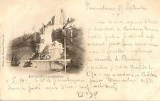 CARTE POSTALE FONTENOY SUR MOSELLE LE MONUMENT