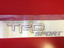 TOYOTA TACOMA TRD SPORT BEDSIDE DECAL STICKER WHITE (75996-04060-A0)