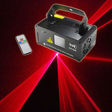 SUNY DMX 200mW RED Laser Stage Lighting Scanner DJ Party Show Xmas Light DM-R200