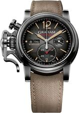 Graham Chronofighter Vintage Aircraft in Steel and PVD Limited Edition of 250