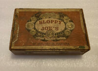 Sloppy Joe's Historic Bar Havana Cuba Rare 1940s Wooden cigar box Hemingway spot