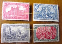 """EBS Germany 1900 - """"Images of the German Empire"""" Michel 63-66 REPRINTS NACHDRUCK"""