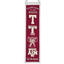NCAA Football College Wimpel Pennant Banner TEXAS A&M AGGIES Heritage - OVP