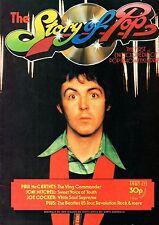 Paul McCartney of The Beatles on Magazine Cover   Joni Mitchell   Joe Cocker