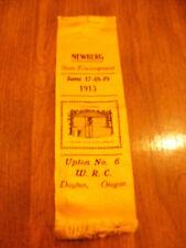 GAR WRC Ribbon - Dept of Oregon, 1913