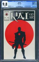 Rai 0 (Valiant) CGC 9.8 White Pages 1st full appearance of Bloodshot
