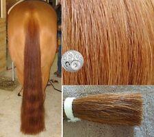 """Genuine OZ Horse False Tail 80CM 32"""" Light Chestnut False Horse Tail EXTENDED"""
