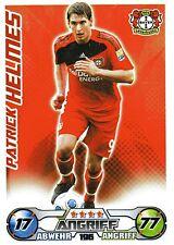196 Patrick Helmes - Bayer Leverkusen - TOPPS Match Attax 2009/2010