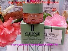 "Clinique All About Eyes Reduces Dark Circles Puffs◆(5ml/0.17oz)◆NIB""FREE POST"""