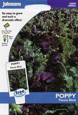Johnsons-pictorial pack-fleur-poppy paeony à fleurs mélangées 2000 graines