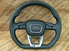 Audi Q7 SQ7 4M Q5 SQ5 FY A4 A6 S Line Flat Bottom Steering Wheel + Airbag 2015+