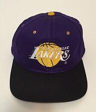 Mens Vintage 80S 90S Los Angeles Lakers Drew Pearson Snapback Hat NBA
