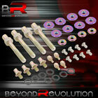 For B16 B18 B-series Valve Cover Washer Seal Bolt Nut Kit Racing Aluminum Neo
