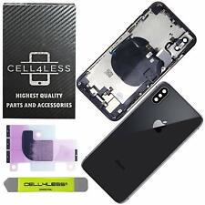 Apple iPhone X Rear Housing Midframe Assembly w/ Pre-Installed Components