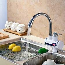 LED Digital Display Instant Electric Faucet Sink Water Heater Kitchen Tools SFW