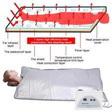3 Zone Wrap Blanket FIR Far Infrared Sauna Heating Body Slimming Fitness Machine