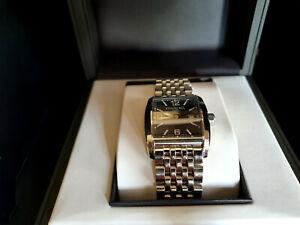 Raymond Weil Don Giovanni Black Dial Curved Case Quartz Wrist Watch, Boxed