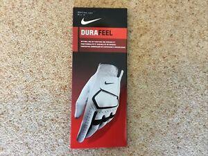 Durafeel Nike Golf Glove Men's Reg/Left 22cm S, White