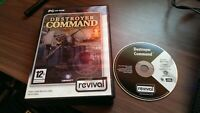 Destroyer Command WWII Naval Combat Simulation PC CD-ROM Game