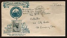Unusual 1944 WWII Soldier Free Frank on Crosby Photo Cachet Envelope FD4481