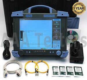 EXFO FTB-400 FTB-7404B SM Fiber OTDR w/ GP-402 FTB 400 7404B FTB400 FTB404B