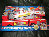 PAW Patrol Kids Ultimate Rescue Fire Truck Lights  Extendable 2 ft. Tall Ladder