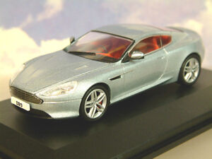 Estupendo Oxford Diecast 1/43 Aston Martin DB9 Coupé 2013 Facelift Plata