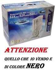 Masterizzatore Portatile Crw-5232AS-U External NERO Usb 2.0 -Dell'Asus- Nuovo