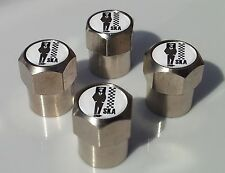 SKA MOD MOPED ALLUMINIUM TYRE VALVE CAPS FOR TIRE WHEEL