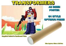 TRANSFORMERS A3 SIZED POSTER G1 STYLE OPTIMUS PRIME - BRAND NEW (#A)