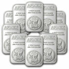 1 oz Silver Bar - APMEX (Lot of 10 Bars) .999 Fine Silver <br/> Buy with confidence & Free Shipping from APMEX on eBay!