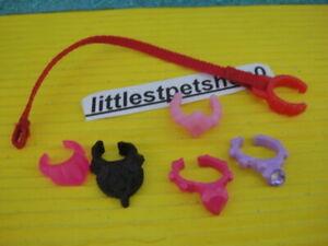 Littlest Pet Shop accessories collar SET.
